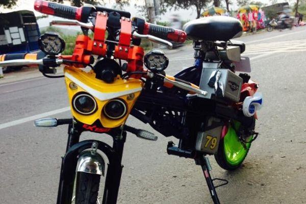 Độ xe đạp điện