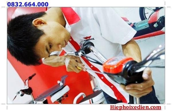Sửa xe đạp điện Xuân Giang
