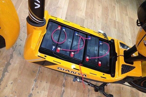 Cách đấu dây ắc quy xe đạp điện