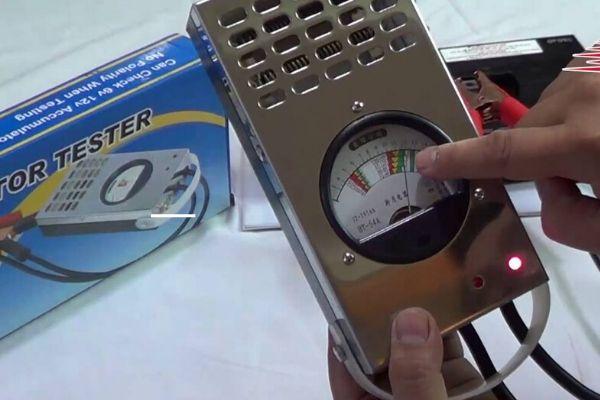 Máy đo ắc quy xe đạp điện