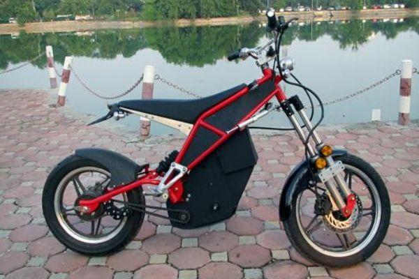 Xe đạp điện độ bằng thiết kế lại