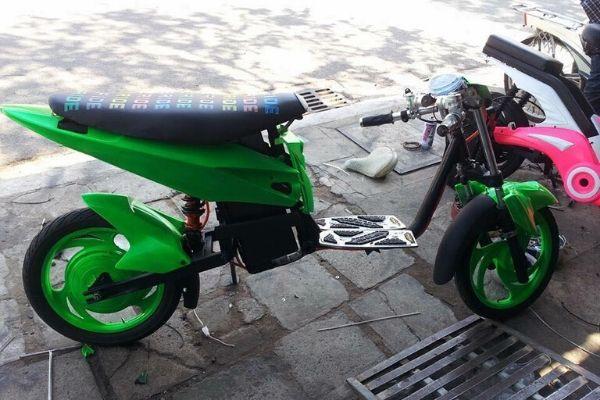 Xe đạp điện độ drag