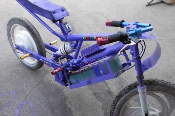 Xe đạp điện độ kiểng