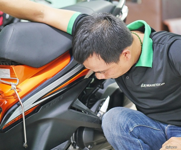 dịch vụ kiểm tra xe máy cũ hà nội