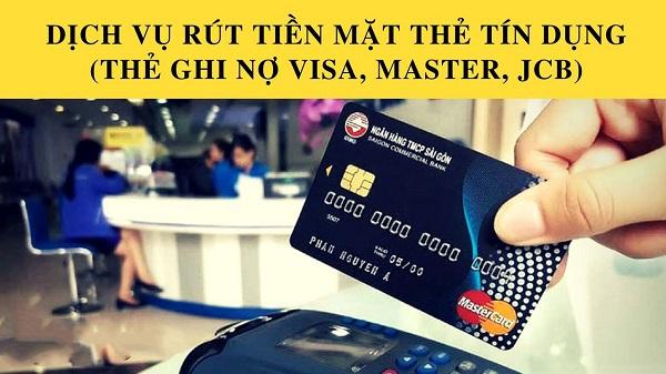 Dịch vụ rút tiền thẻ tín dụng uy tín nhất Bắc Ninh