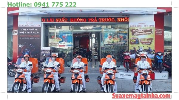Cứu hộ xe máy Honda Hà Nội - An Bình Motor